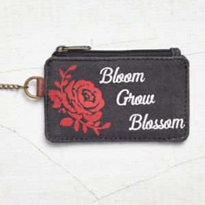 Up cycled Mona B Humble ID Pouch. NWT
